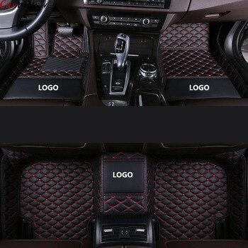 Car Wind car floor mats For jaguar xf 2018~2019 xj F-PACE 2018 F-TYPE 2013~2019 XK accessories carpet rug