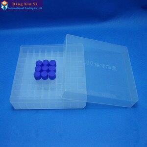Image 2 - 1.8 ملليلتر/100 فتحات تجميد صندوق أنبوب + 100 قطع تجميد أنبوب شحن مجاني