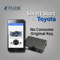 Fuzik GPS Tracker remote smart start for toyota rav4 corolla camry Highlander land cruiser prado sienna crown lexus es nx rx