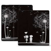 Flip PU Leather Case Cover 7 E Reader Colorful Print Ebook Protective Skin For 2017 Amazon