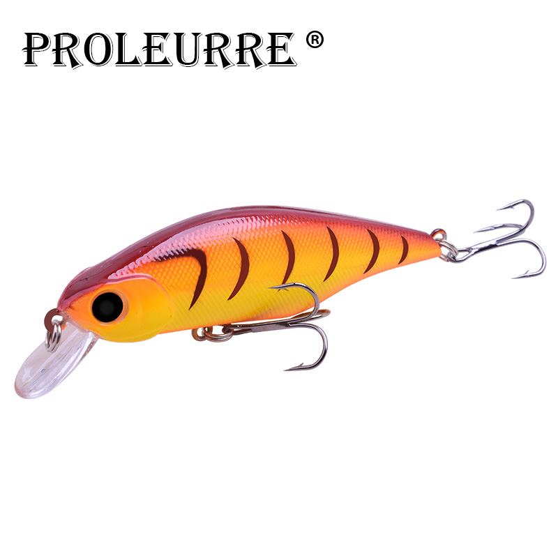 Proleurre Artificial Fishing Lures Hard Minnow Wobblers For Fishing New Model 11g 9cm Bass Pike Fishing Pesca Accessories in Fishing Lures from Sports Entertainment