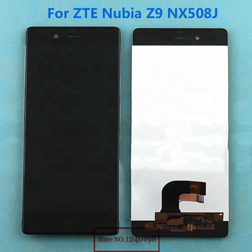 5.2 TOP Quality Full LCD Display Touch Screen Digitizer Assembly For ZTE Nubia Z9 NX508J Phone Parts Replacement
