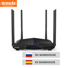 Tenda AC10 AC1200 inteligente Dual-Band Gigabit inalámbrico WiFi Router Wi-Fi repetidor/AP 1GHz CPU soporte IPTV/APP administrar/Beamforming(China)