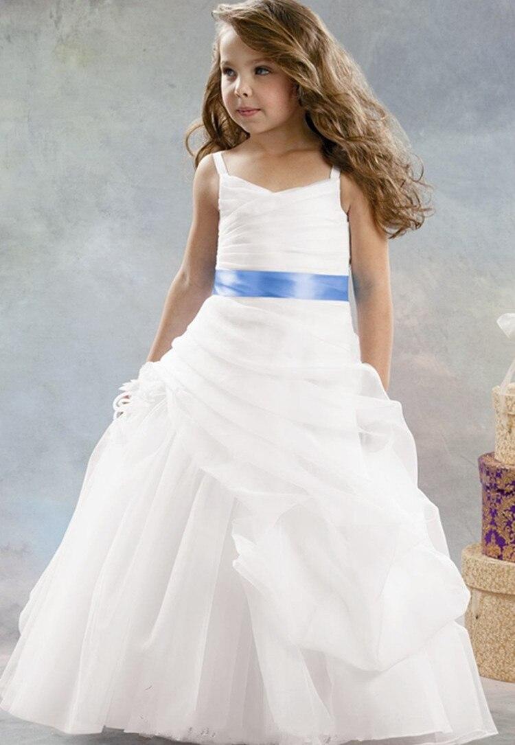 2015 white organza flower girl dresses for weddings for Dress for girl for wedding
