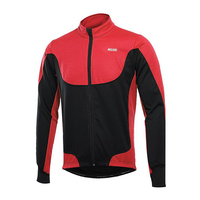 Winter Thermal Riding Cycling Jacket Windproof Long Sleeve Thickened MTB Bike Coats Breathable MTB Bicycle Clothing