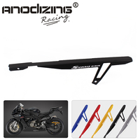 CNC Aluminum Motorcycle Rear Chain Guard Cover Protector For BMW S1000RR 2009 2014