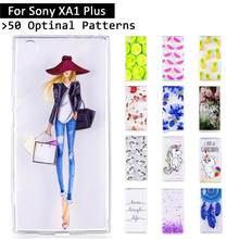 Luxury Case For Sony Xperia XA1 Plus G3421 G3423 G3412 G3416 G3426 Cartoon Cute Protective Painting Cases Shells Coque bags capa(China)