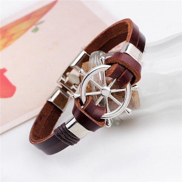 Leather Rudder Bracelet for Men