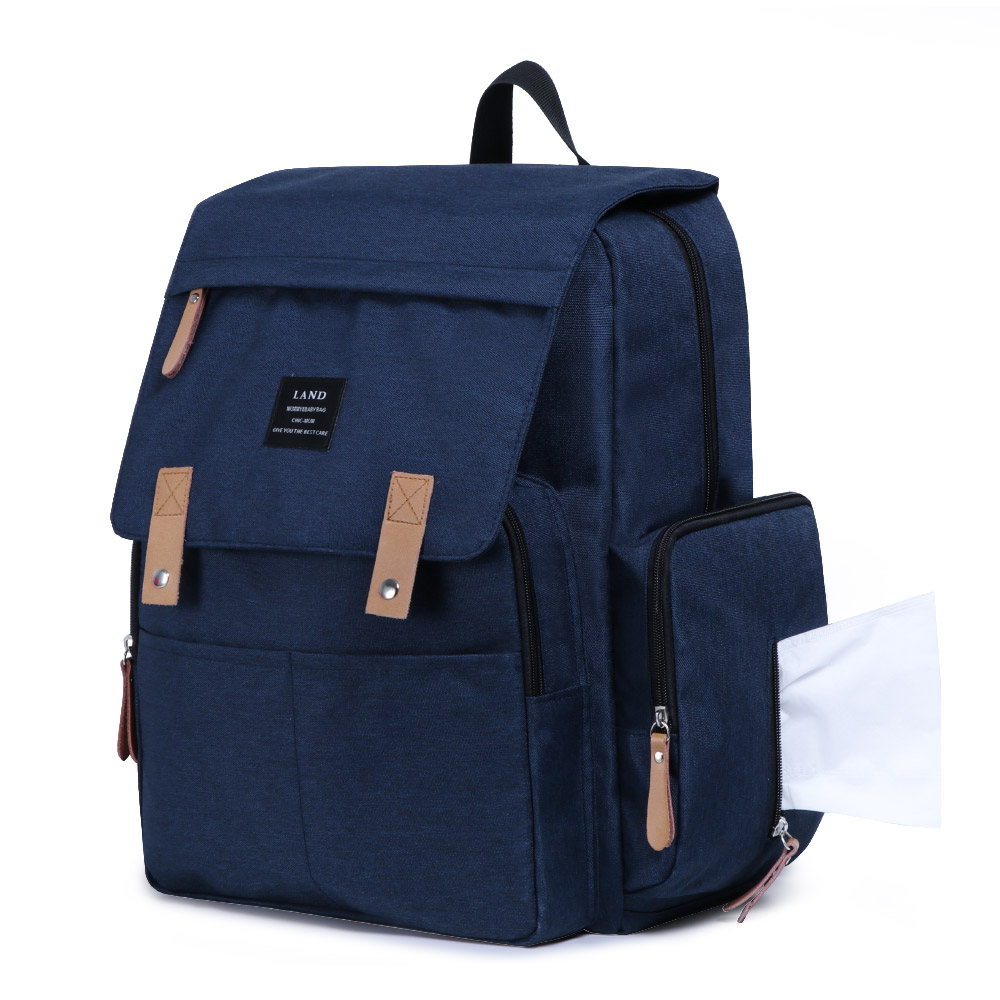 HTB1T9vERkzoK1RjSZFlq6yi4VXao LAND Mommy Diaper Bags Landuo Mother Large Capacity Travel Nappy Backpacks with changing mat Convenient Baby Nursing Bags MPB86
