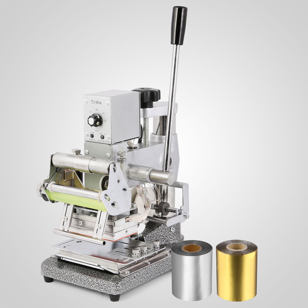 Bronzing Machine 10x13cm Digital Hot Foil Stamping Machine 110V For Leather PVC PU Wood
