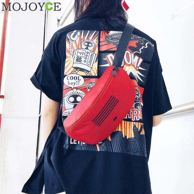 726152885c2d US $3.89 22% OFF|New Design Girl Canvas Letter Print Waist Pack Street Cool  Style Shoulder Bag Waist Fanny Chest Packs Women Crossbody Bags-in Waist ...