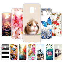 3D DIY Case For Samsung Galaxy J6 2018 Coque On6 J600F/DS J600G/DS Soft Painted Cover Fundas