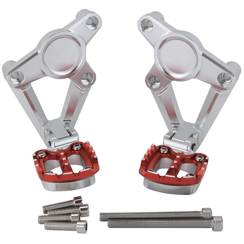 For Honda X-Adv Xadv X Adv 750 2017-2018 Motorcycle Accessories Folding Rear Foot Pegs Footrest Passenger