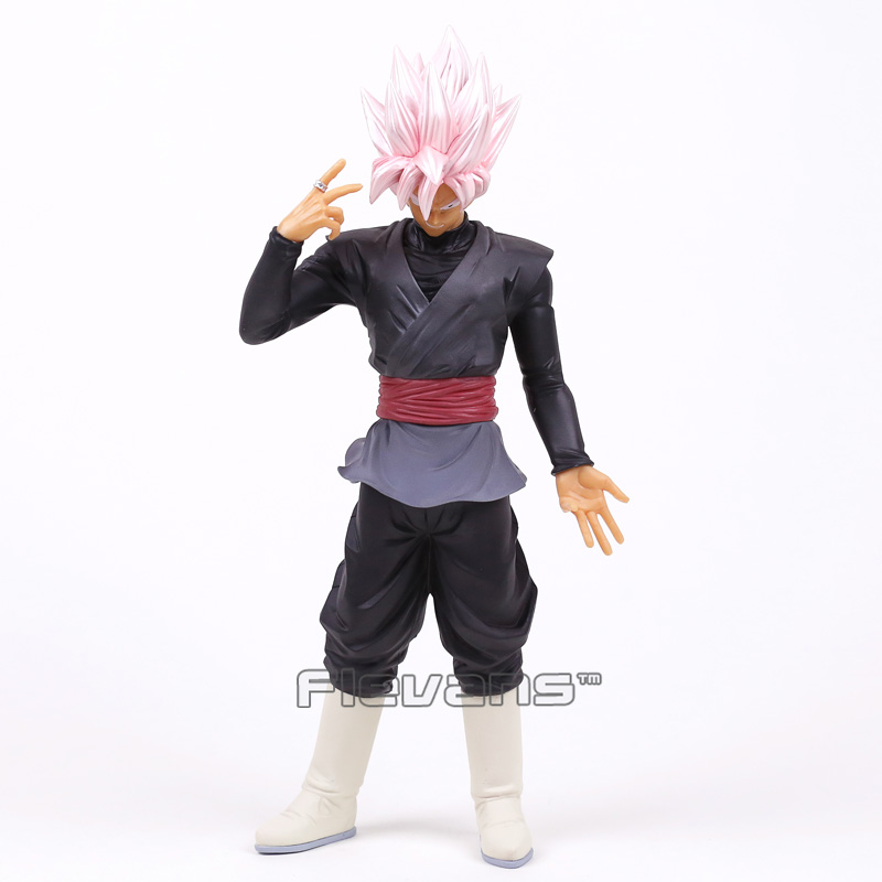 Dragon Ball Z Grandista ROS Resolution of Soldiers Super Saiyan Rose Gokou Black PVC Figure Collectible Model Toy 32cm [pcmos] anime dragon ball z ros resolution of soldiers awaken son gokou 57 pvc figure 15cm 6in toys collection no box 5932 l