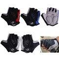 Medio dedo guantes de ciclismo antideslizante almohadilla de Gel transpirable de la motocicleta camino de MTB bicicleta guantes de las mujeres de los hombres de deportes bicicleta GUANTES DE S-XL