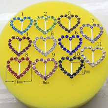 1Set 10PCS 25mm*22mm Wedding Flatback Ivory Crystal Rhinestone Pearl Button Wholesale DIY Hot Jewelry Accessory