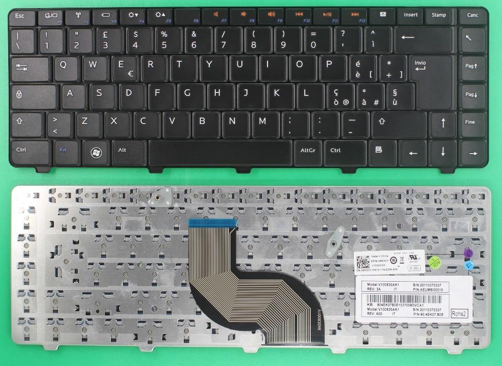 SP Spanish Teclado Keyboard For DELL Inspiron 14V 14R N4010 N4030 N5030 M5030 Laptop Black