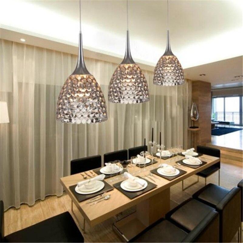 lustre modern honeycomb pendant lighting modern fashion dining room pendant light aluminum designer lamp e27 110v