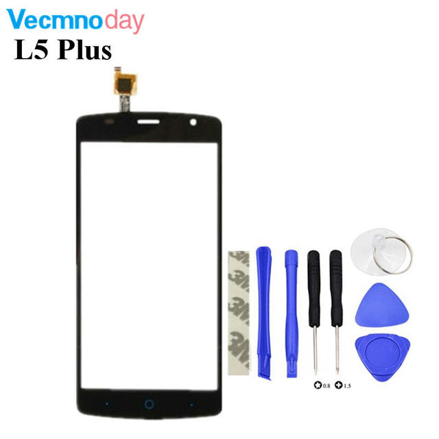 Vecmnoday 5.0'' Touch Screen Digitizer For ZTE Blade L5 Plus Touch Panel Glass For ZTE Blade L5 Plus Touchscreen Sensor Panel