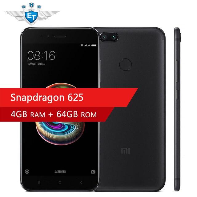 Original Xiaomi Mi 5X 5 X 4GB 64GB 5.5'' 1080P Snapdragon 625 Octa Core Smartphone 4G FDD LTE Dual 12MP Fingerprint  MIUI 8.5