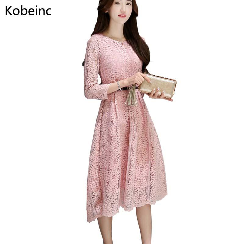 Nueva manera de las mujeres lindas dress del estilo del verano 2017 elegante de