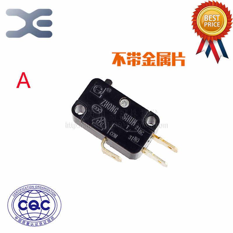 Haute qualité 3 broches Micro-interrupteur pièces de cuiseur à riz interrupteur de voyage prise en cuivre argent Contact 16A 250 V