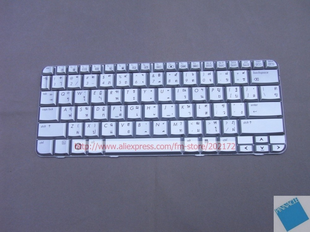 Brand New Notebook Keyboard Silver 464138-281 484748-281 For HP Pavilion TX2000 <font><b>TX2500</b></font> (Thailand) 100% compatiable us image