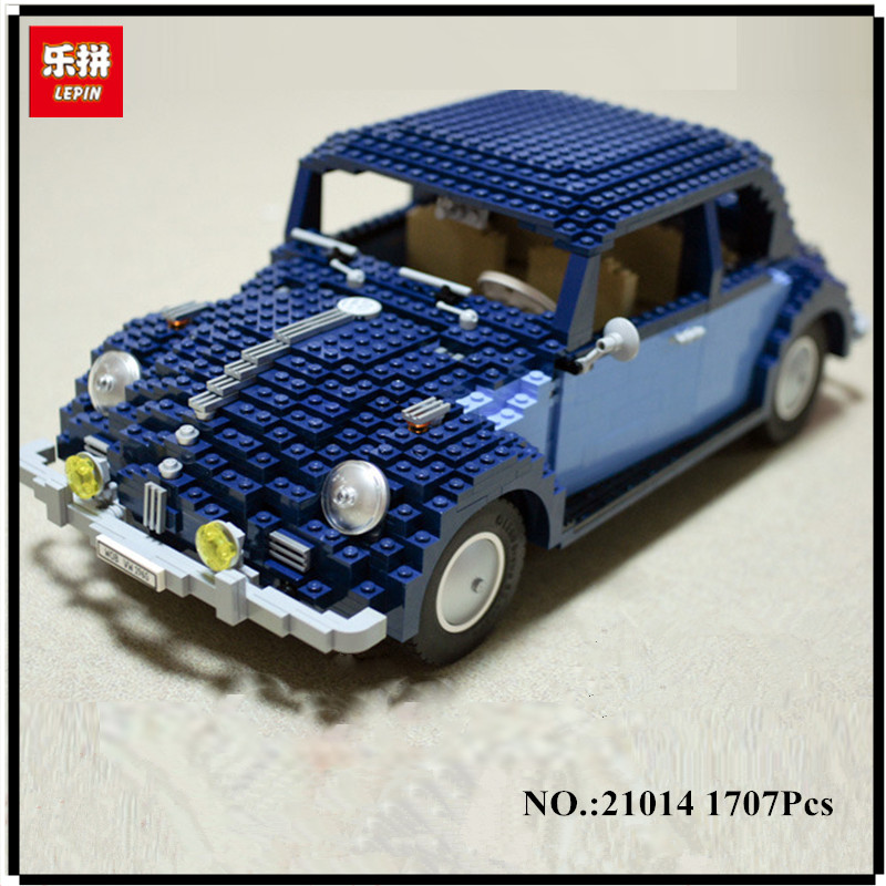 IN-STOCK Lepin 21014 1707Pcs Technic Classic Series The Ultimate Beetle Set children Educational Building Blocks Bricks Toys lepin 21014 the ultimate beetle building bricks blocks toys for children boys game model car gift compatible with bela 10187