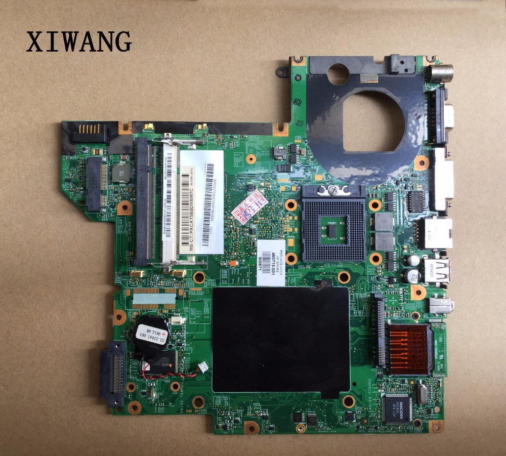 460715-001 Free shipping Laptop motherboard FOR HP DV2000 motherboard COMPAQ V3000 with 965GM 448598-001 100% Tested GOOD 460716 001 laptop motherboard for hp compaq pavilion dv2000 v3000 g86 631 a2 update graphics mainboard full tested
