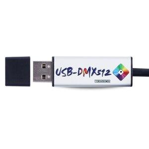 Image 3 - Adaptador de Interfaz de USB a DMX LED DMX512, estudio, ordenador, PC, controlador de iluminación de escenario