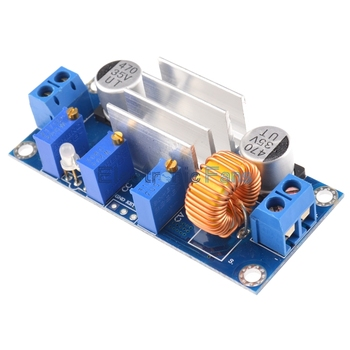 Automatic Protection! 5A Max DC-DC XL4005 Step Down Buck Power Supply Module Adjustable CC/CV Lithium Charge Board for Arduino 2