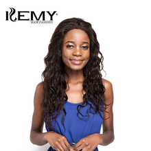 "KEMY HAIR FASHION Afro Kinky Curly Lace Front Mänskliga Hårperor 22 ""Lång Natural Color Brazilian Remy Hair Paryk För Kvinnor Fartyg"