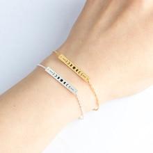 Sun Moon Phase Lunar Eclipse Bracelets Charm Women Space Galaxy Jewelry Gifts Stainless Steel Thin Bar Friendship Bracelet Femme