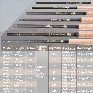 Image 2 - Maximumcatch 9 11FT V Tenkara Rod наряд IM10/36T карбоновое волокно Fly Rod & Tenkara Line & деревянный ящик & мухи