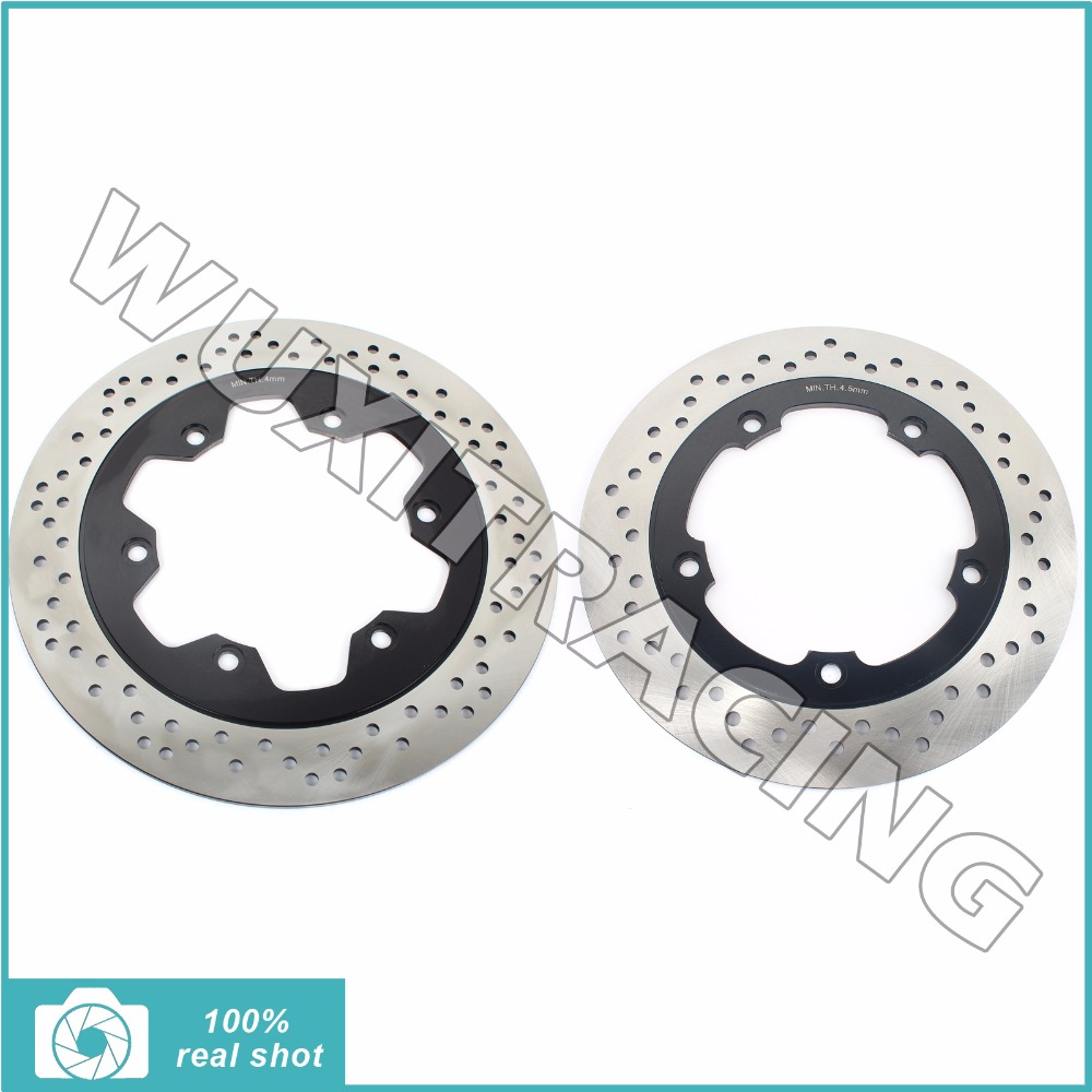 New Motorcycle Full Set Front Rear Brake Discs Rotors for TRIUMPH America 865 EFI 2008 2009 2010 2011 2012 2013 2014 2015 08-15 car rear trunk security shield shade cargo cover for nissan qashqai 2008 2009 2010 2011 2012 2013 black beige