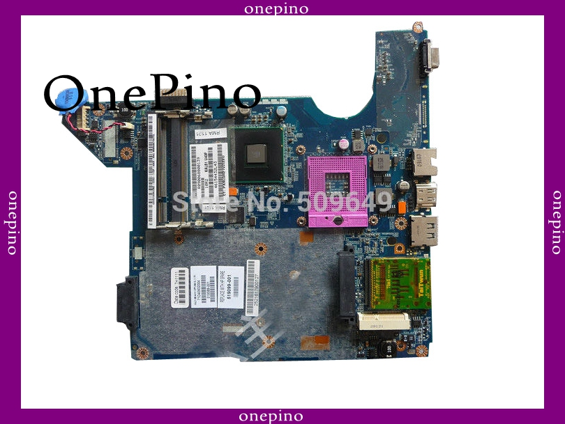 Top quality , For HP laptop mainboard CQ40 519099-001 laptop motherboard,100% Tested 60 days warranty 658544 001 for hp 6465b laptop motherboard fs1 socket 100%full tested ok tested working