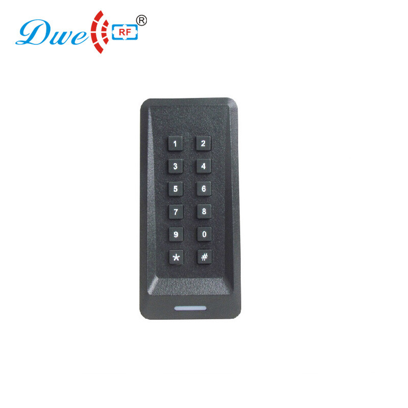 DWE CC RF 125khz control card readers rf rfid access control keypad 13.56 mhz reader wiegand 26 with built in antenna 125k waterproof glue square rf access control reader rfid antenna coil induction coil slim compact
