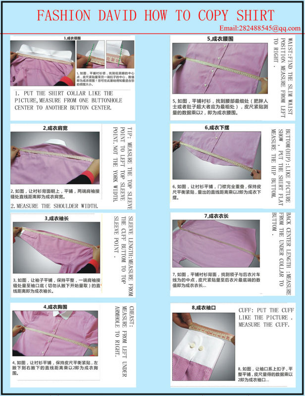 How to measure for a shirt man enam t shirt for Made to measure casual shirts