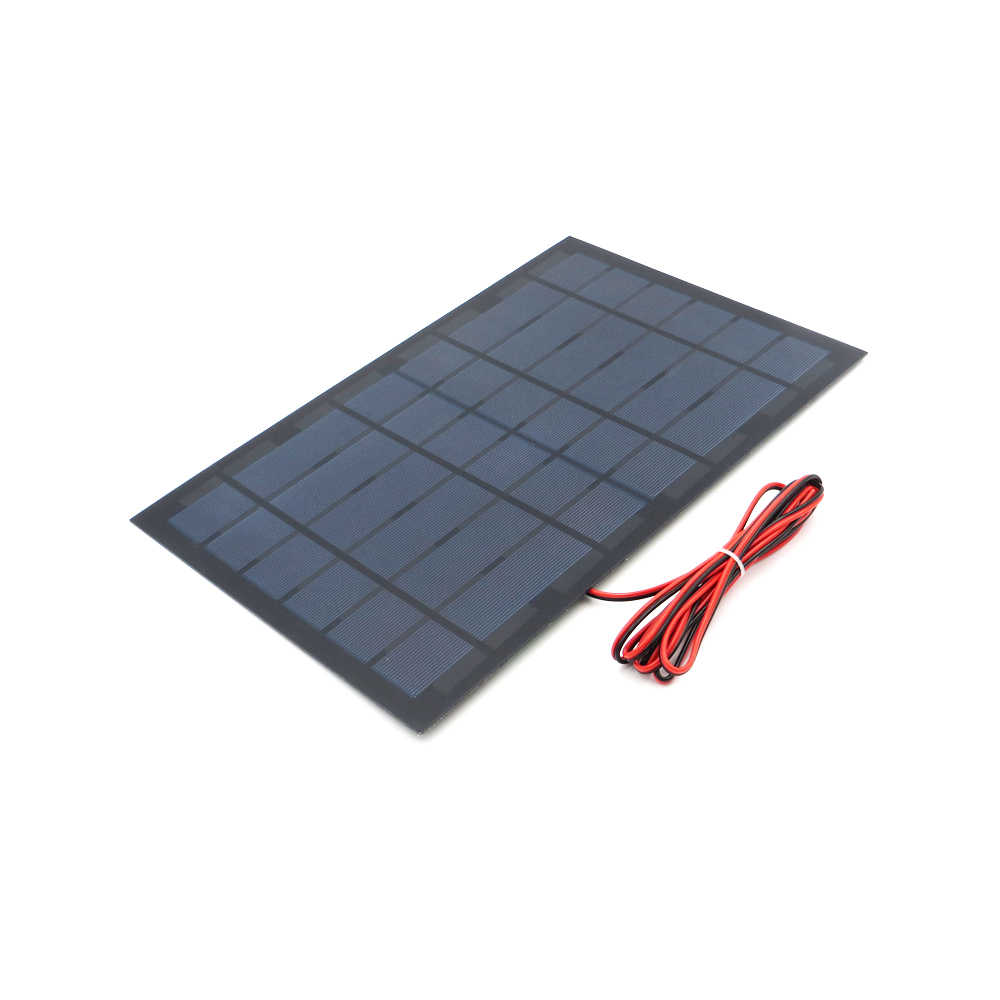 6 V 1.6A 10 W Solar Panel Portable DIY Module Panel System For Solar Lamp Battery Toy Phone Charger Solar Cells Volt 6V Watts