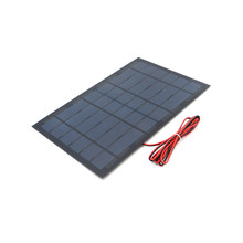 6 V 1.6A 10 W Solar Panel Portable DIY Module Panel System For Solar Lamp Battery Toy Phone Charger Solar Cells Volt 6V Watts(China)