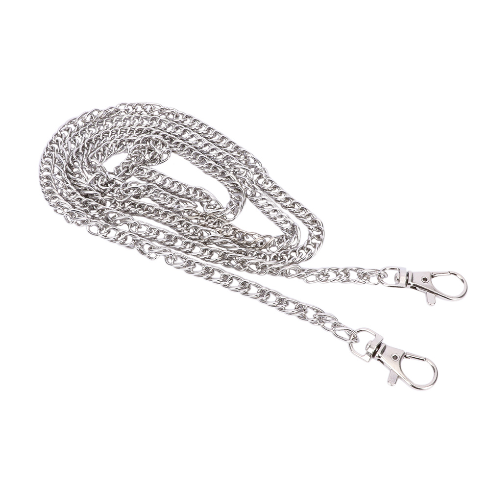 120 CM \ 100 CM \ 40 CM Metal Stainless Steel Purse Chain Strap Handle Shoulder Crossbody Handbag Bag Belt Metal Replacement
