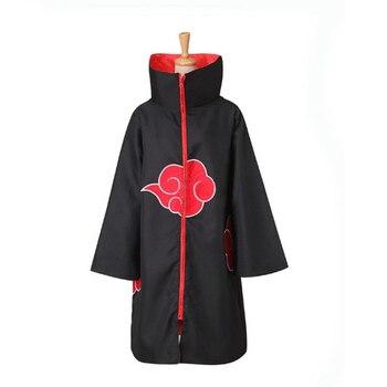 Anime Naruto Akatsuki Cloak Cosplay Costume Uchiha Itachi Ring Headband  Men Gifts  Sasuke Cloak Robe Cape Halloween Carnival 2
