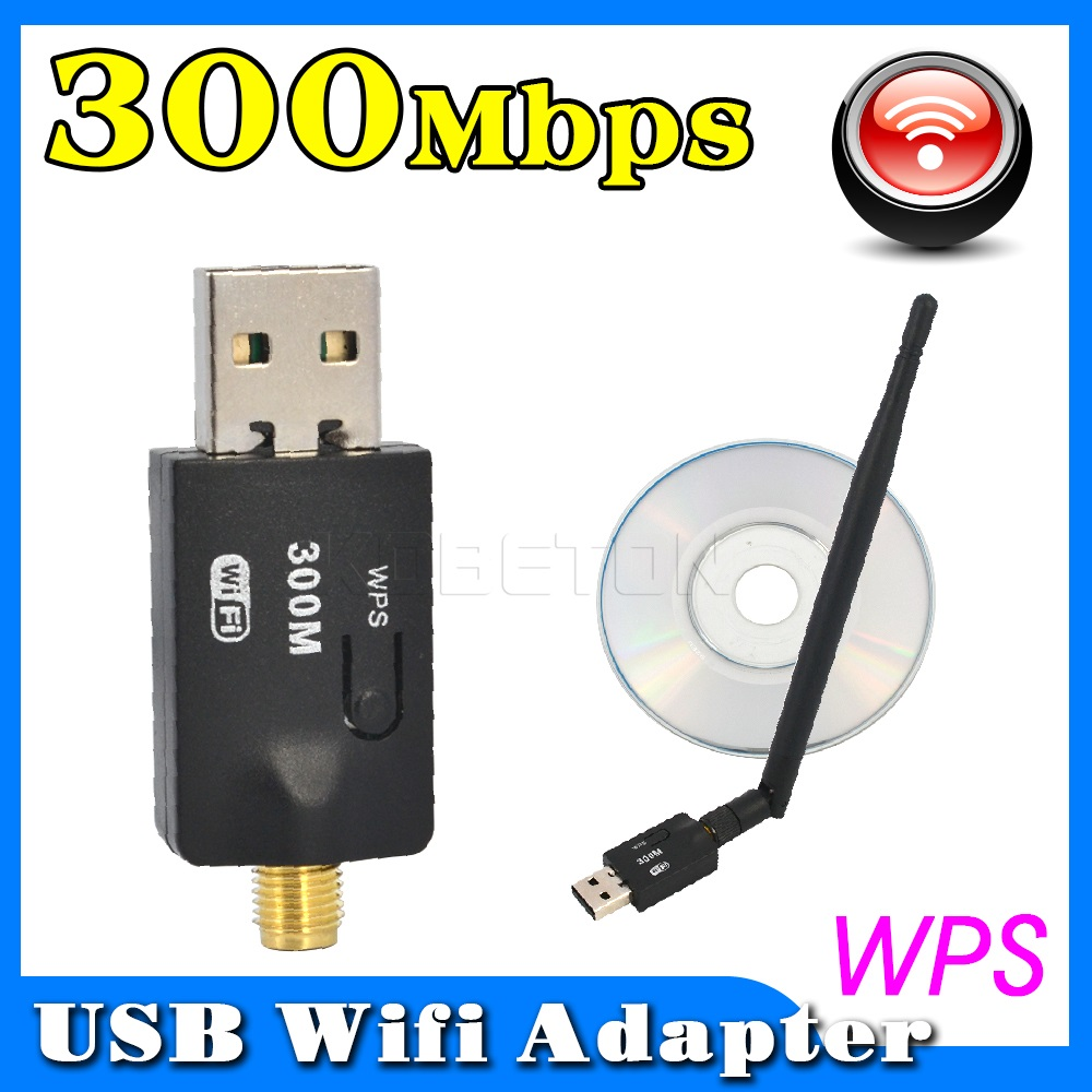 Wireless Usb Adapter Mini External Server Applications 300 Mbps Ultra High Speed