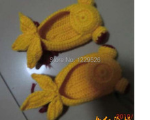 new model  autumn season Crochet Baby Booties   fish style shoe
