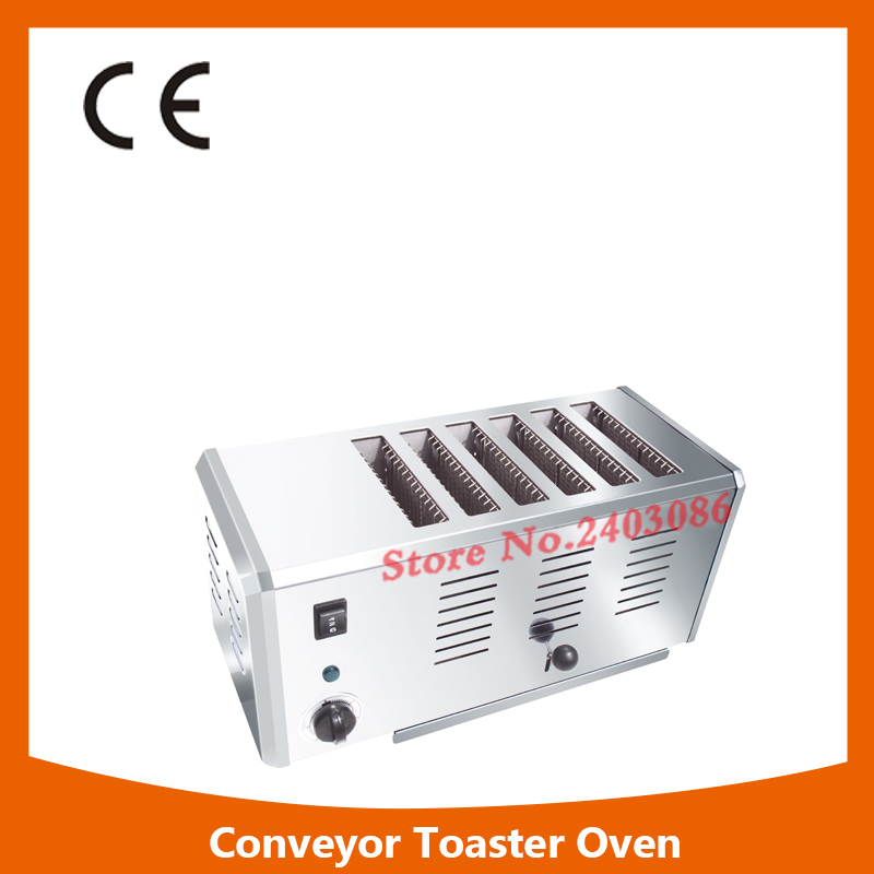 Multifunction 6 Slice Stainless Steel Electric Bread Toaster,High Quality 6 Slice Toaster,Commercial Electric Bread Toaster kitchen slice of bread cake separators white green 2 pcs