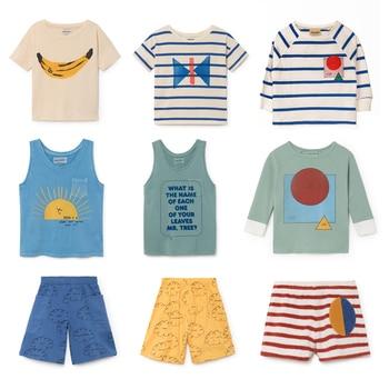 Pre-Sale BOBO T-shirts For Baby Boys Cotton T shirt Girls Tops bobo choses 2018 Summer Shorts Kids Children T-shirts Clothes polka dot
