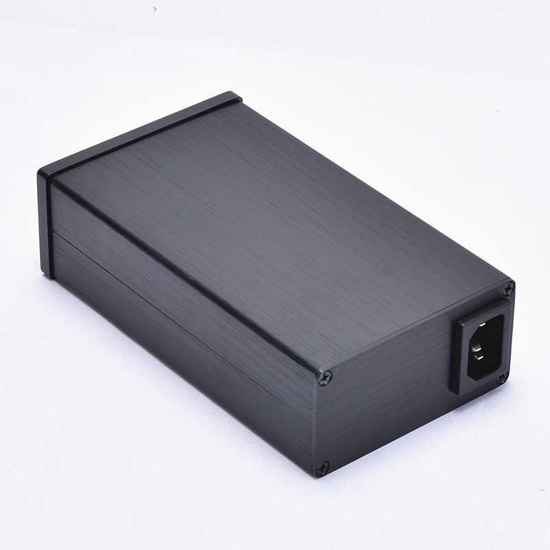 1 шт. 0905 алюминиевый усилитель DAC корпус мини-усилитель корпус усилитель ходовой части коробка PSU усилитель для наушников шасси Бесплатная доставка