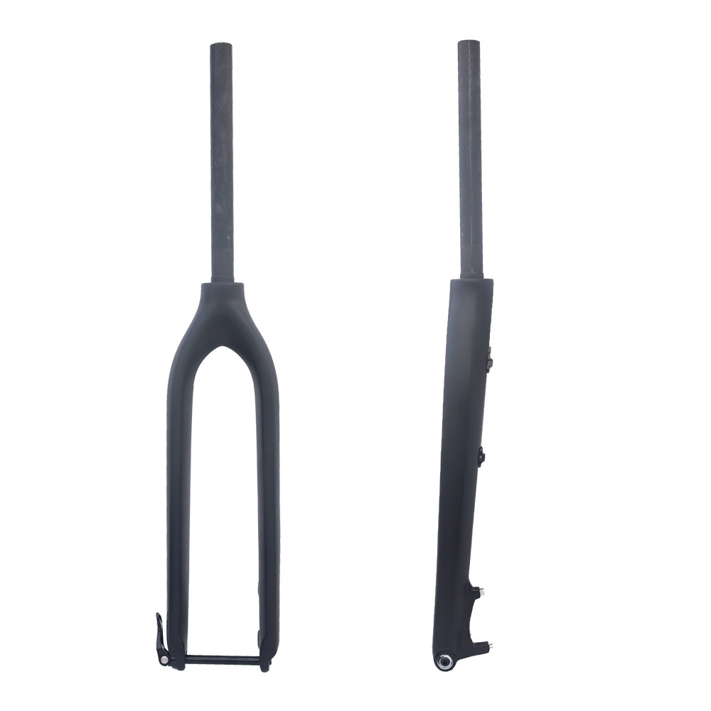 FCFB no logo Carbon fork  27.5/29er MTB Fork For Bicicletas Rigid Mountain Bikes forkTapered Thru Axle 12mm Fork bicycle fork