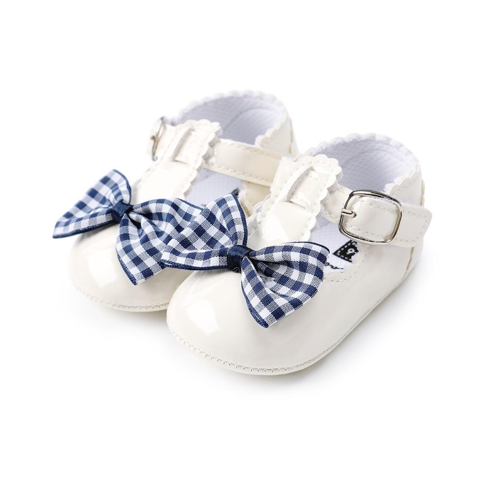2018 nieuwe stijl baby schoenen zoete vlinder-knoop gesp srtap - Baby schoentjes - Foto 5