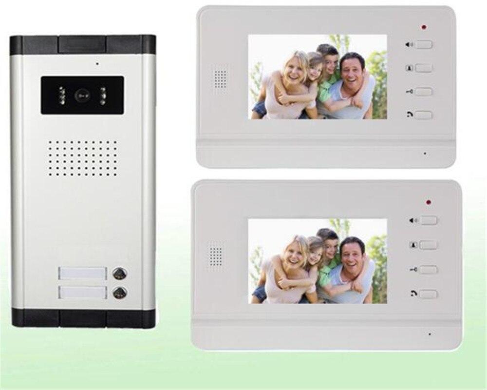 4.3 Inch 1v2 Video Intercom Door Phone
